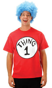cat in the hat costume cat in the hat thing 1 costume kit costumes