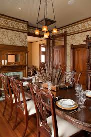 wallpaper designs for dining room dining room xmas centerpiece ideas in eclectic dining room with