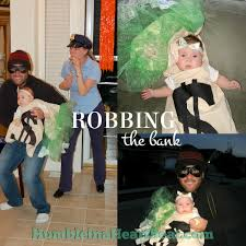 Cops Robbers Halloween Costumes Family Halloween Costume Idea Robbing Bank Humble