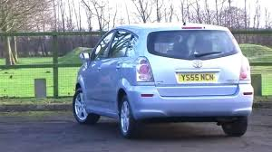 toyota corolla verso 1 8 t3 5dr full history 7 seater 2 youtube