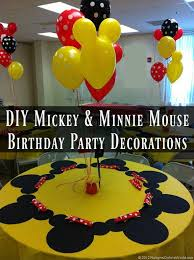 mickey mouse party diy mickey mouse and minnie mouse party decorations robyns world