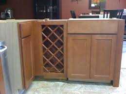 wine rack cabinet in kitchen island installing 30 inch base wine