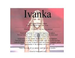Meaning Of Pink What Is Meaning Of Name Ivanka U2013 Namemeans Net