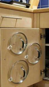 kitchen cabinet door pot and pan lid rack organizer pin by jeff on pictures diy kitchen