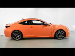 lexus rcf coupe orange 2015 lexus rc f for sale in norwell ma 000664 mclaren boston