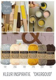 color combinations online kleurinspiratie okergoud scheepjes catona color schemes