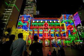 Light Up Rocks by Sydney Lights Up U2013 Vivid Is Back Only The Good News
