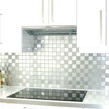 plaque cuisine credence inox autocollante plaque cuisine credence cuisine faience