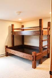 Wooden Bunk Bed Plans Free by Diy Industrial Bunk Bed Free Plans Industrial Bunk Beds Bunk