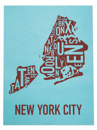 Chicago Map Poster by All Our Posters Ork Posters Complete Collection Of Typographic Maps