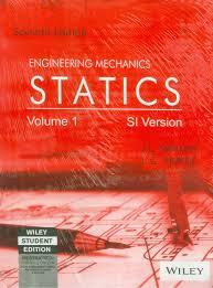 engineering mechanics statics si version volume 1 7 edition