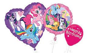 my pony balloons birthday balloons party city