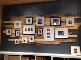 cool reclaimed wood wall decor instead of the wall