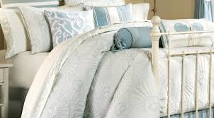 bedding set elegant blue and white beach theme comforter bedding