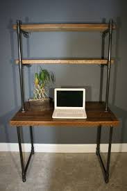 Wooden Desk With Shelves Best 25 Wood Computer Desk Ideas On Pinterest Building A