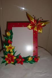 59 best picture frame kanzashi images on pinterest picture