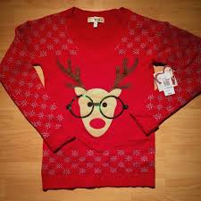 rudolph sweater 53 i m in with derek sweaters nwt