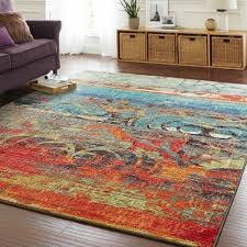 5 X 8 Area Rug The Curated Nomad Vallejo Eroded Color Area Rug 5 X 8 5 X 8