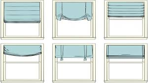 roman shades for kitchen styles of window shades different styles