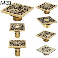 online get cheap square brass floor drain aliexpress com