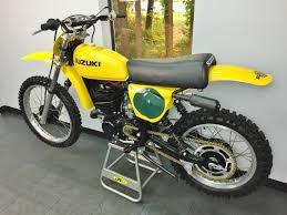 1977 suzuki rm250 dirt bike vintage dirt bike burton bros motor