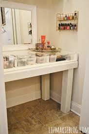 Glass Makeup Vanity Table Magnificent Glass Top Vanity Table With Diy Glass Top Makeup