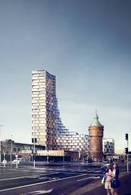 gallery of 3xn designs affordable housing tower in denmark 1