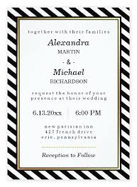 wedding invitations black and white top 10 most glamorous black white striped wedding invitations
