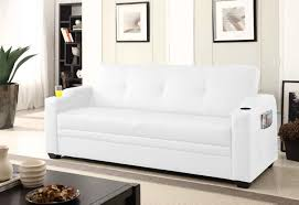 canapé convertible avec coffre rubens blanc canapé convertible avec coffre de rangement canapés