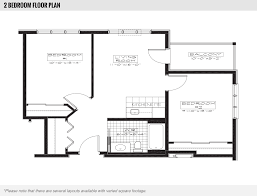 Two Bedroom Floor Plans Location U0026 Floor Plans Harbour Hill Retirement Community