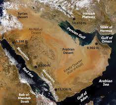 United States Of Islam Map by Arabs Islam And Oil