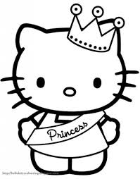 hello kitty printable coloring pages pertaining to really