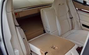 porsche panamera seats 2011 porsche panamera turbo test motor trend