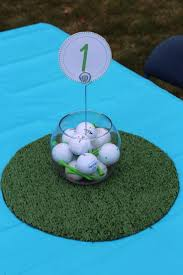 theme centerpiece golf theme centerpiece s party jagger s second