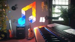 nanoleaf delivers music syncing for its aurora smart lights