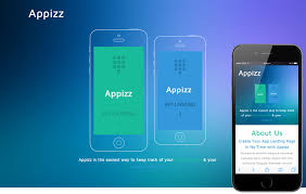 product layout bootstrap appizz a mobile app based flat bootstrap responsive web template by