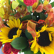 the centerpieces of thanksgiving blooms today