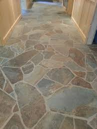 Tile Flooring For Kitchen by 25 Best Flagstone Flooring Ideas On Pinterest Stone Flooring