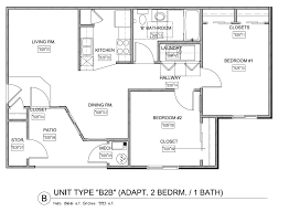 3 bedroom 2 bath floor plans floor plans monarch meadows apartments