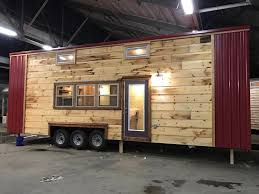 tiny house town 32 u0027 modern rustic tiny home
