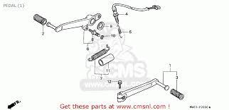 honda cbr900rr fireblade 1994 r singapore pedal 1 schematic