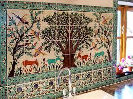 kitchen tile murals tile art backsplashes kitchen backsplash tiles u0026 backsplash tile ideas balian studio