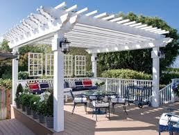 White Vinyl Pergola Kits by Amazing Decoration White Pergola Entracing Vinyl Pergola Kits