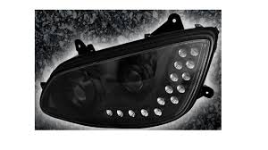 2010 kenworth t680 kenworth t660 aftermarket redesigned headlight assembly w 18 led u0027s