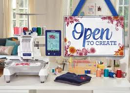 pe design embroidery machine sewing centre