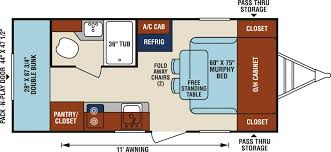 triple bunk travel trailer floor plans kitchen islands best travel trailers images trailer outdoor