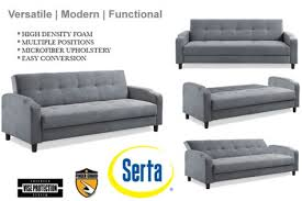 Futon Sofa Bed Queen by Top Serta Sleeper Sofa Red Barrel Studio Serta Upholstery