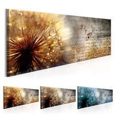 wandbilder wohnzimmer deko bilder drucke mit pusteblume fürs wohnzimmer ebay