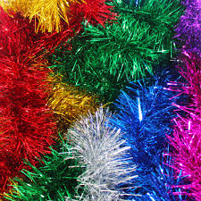 Halloween Tinsel Garland by Multi Color Christmas Tree Decorations Christmas Lights Decoration