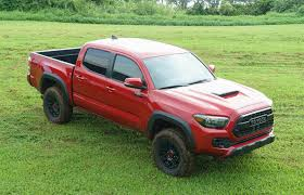 toyota tacoma blacked out off road in hawaii with the 2017 toyota tacoma trd pro 95 octane
